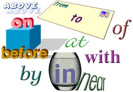 prepositions, phrasals